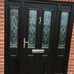 composite door installed
