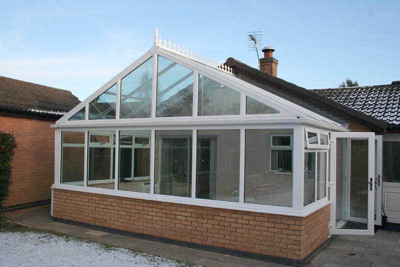 conservatory installed by GLS